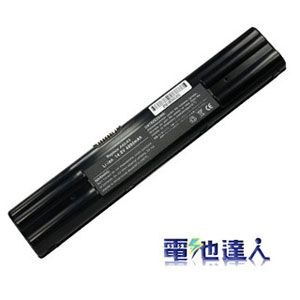 [電池達人]Asus A3, A3000, A3500, A6, A6000 電池