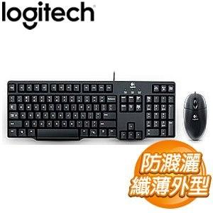 Logitech 羅技 MK100 有線鍵盤滑鼠組(第二代)