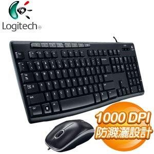 Logitech 羅技 MK200 USB鍵盤滑鼠組 - 搭機價