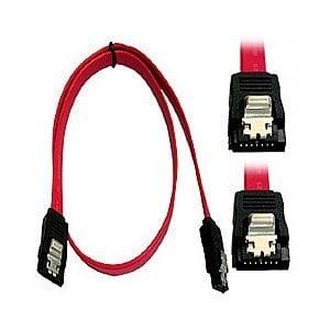 硬碟排線(SATA1), 180對180, LATCH, 紅