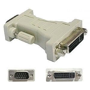 DVI~I~VGA DVI~VGA 轉接頭 ^(DVI~ADP~29F15M^)