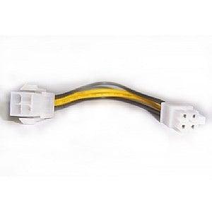 BTX 4公+4母 電源線