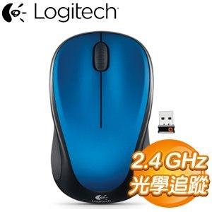 Logitech 羅技 M235 2.4GHz無線滑鼠《藍》