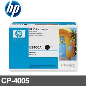 HP 原廠碳粉匣 CB400A 黑色