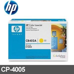 HP 原廠碳粉匣 CB402A 黃色