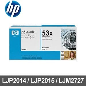 HP 碳粉匣 Q7553X 黑色