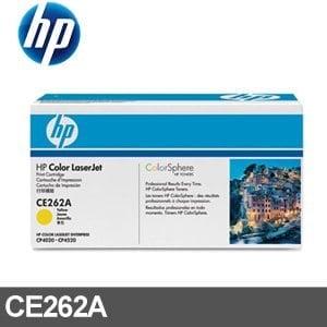 HP 碳粉匣 CE262A 黃色