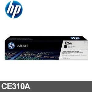 HP 碳粉匣 CE310A 黑色