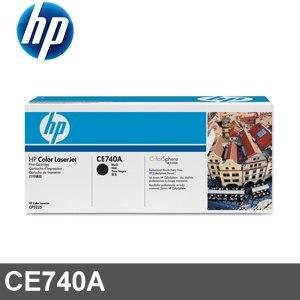 HP 碳粉匣 CE740A 黑色