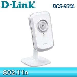 D-Link 友訊 DCS-930L mydlink Wireless N 無線網路攝影機