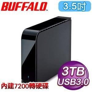Buffalo 巴比祿 HD-LX 3TB 7200轉 3.5吋硬體加密 USB3.0 外接硬碟