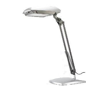3M 58°博視燈 單臂桌夾兩用燈 -洗鍊銀