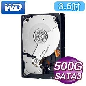 WD 威騰 Black 500G 3.5吋 7200轉 64M快取 SATA3黑標硬碟(WD5003AZEX)