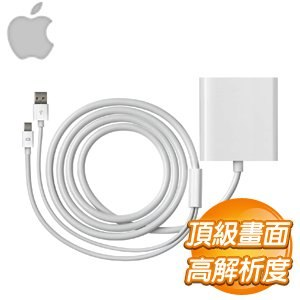 Apple Mini DisplayPort 轉雙連結 DVI 轉接器