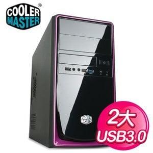 Cooler Master 酷碼 RC-344/USB3 黑紫2大電腦機殼