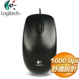 Logitech 羅技 M100R 滑鼠《黑》