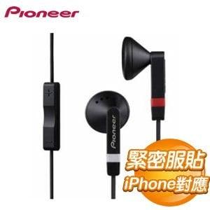Pioneer 先鋒 SE-CE511I iPhone mic耳機 - 線控通話《黑色》