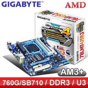 Gigabyte 技嘉 78LMT-USB3 AM3+ 主機板《原廠四年保固》