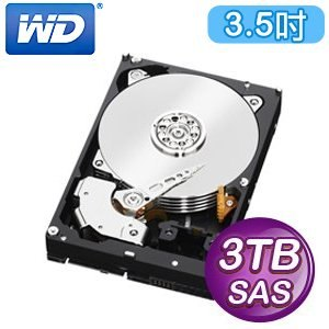 WD 威騰 RE 3TB 3.5吋 7200轉 32M快取 SAS企業級硬碟(WD3001FYYG)