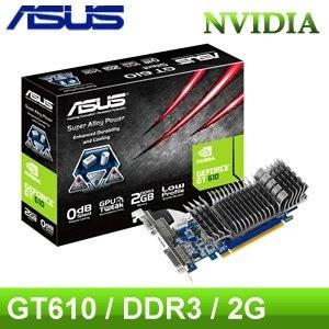 ASUS 華碩 GT610 SL 2GD3~L PCIE顯示卡~ 註冊四年 ~