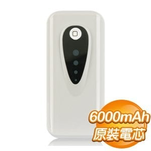 TREETOP 樹昌 PowerBank 6000mAh 白色 行動電源~SAMSUNG韓