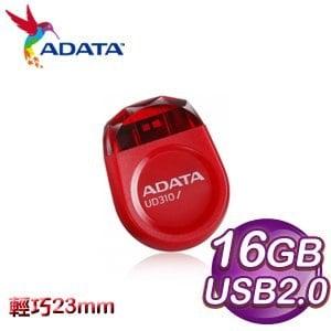 ADATA 威剛 UD310 16G 迷你寶石碟《紅》