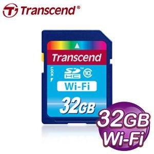 Transcend 創見 WIFI 32G SDHC(CL10)記憶卡