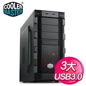 Cooler Master 酷碼【K280】ATX電競機殼《黑》