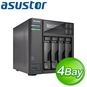 ASUSTOR華芸 AS-604T 4Bay網路儲存伺服器