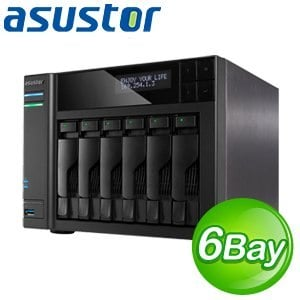ASUSTOR華芸 AS-606T 6Bay網路儲存伺服器