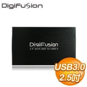 伽利略 USB3.0 2.5吋 SATA3 SSD/HDD 鋁合金 硬碟外接盒(HD-325U3S)《黑》