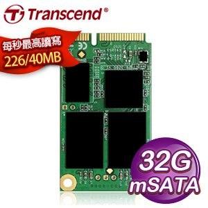 Transcend 創見 630系列 32GB mSATA 微型固態硬碟