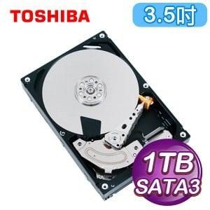 Toshiba 東芝 1TB 3.5吋 64M快取 SATA3企業級硬碟(MG03ACA100)