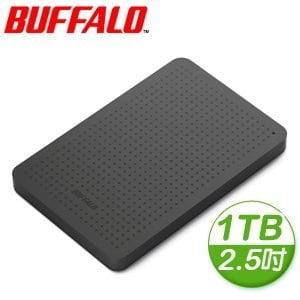 Buffalo 巴比祿 PCFU3 1TB 2.5吋 USB3.0外接硬碟《黑》