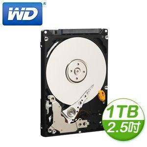 WD 威騰 Blue 1TB 2.5吋 5400轉 8M快取 SATA3硬碟(WD10JPVX)