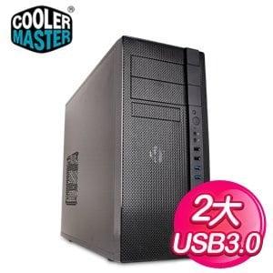 Cooler Master 酷碼【N400】ATX電腦機殼《黑》
