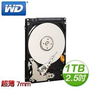 WD 威騰 Blue 1TB 2.5吋 5400轉 16M快取 SATA3硬碟(WD10SPCX)