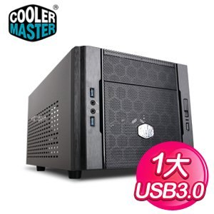 Cooler Master 酷碼【Elite 130】Mini-ITX電腦機殼《黑》