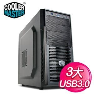 Cooler Master 酷碼 K282 網孔 黑3大 ATX電競機殼