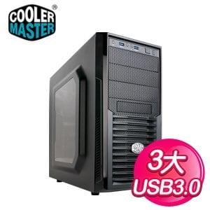Cooler Master 酷碼 K282 透側 黑3大電競機殼