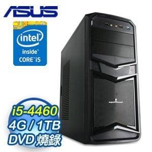 華碩 H81 平台【闇夜紀元】Intel Core i5-4460 4G 1TB 多工高效能電腦