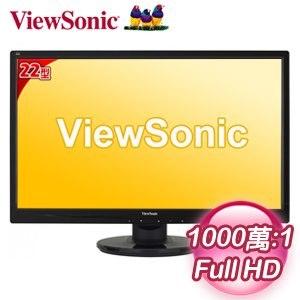 ViewSonic 優派 VA2246a 22型 Full HD 超高畫質LED螢幕