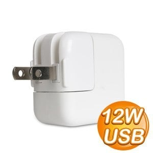 12W 2.4A USB 電源轉接器《白色》