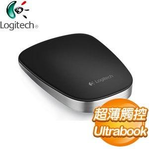 Logitech 羅技 T630 超薄觸控滑鼠《黑》