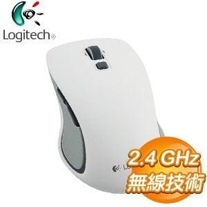 Logitech 羅技 M560 無線滑鼠《白》