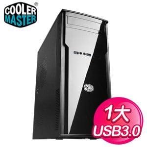 Cooler Master 酷碼 Elite 241/USB3 黑1大 電腦機殼