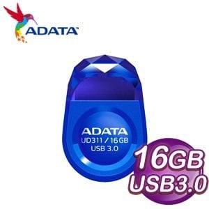 ADATA 威剛 UD311 16GB USB3.0 迷你寶石隨身碟《藍》