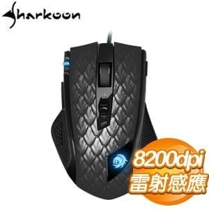 Sharkoon 旋剛 馭龍者-進階版8200dpi 電競鼠