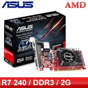 ASUS 華碩 R7 240 2GD3-L PCIE顯示卡《原廠註冊四年保固》