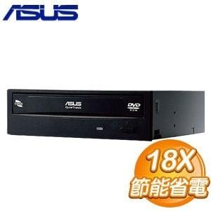 ASUS 華碩 E818A9T SATA 18X DVD-ROM光碟機(黑)